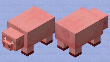 Big Pig (Worried/nitwit's request) Minecraft Mob Skin