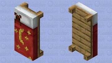 Bed with Teddy Bear Minecraft Mob Skin