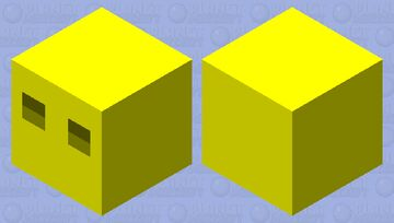 Golden Magma Cube Minecraft Mob Skin