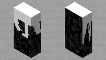 melting bedrock bed Minecraft Mob Skin