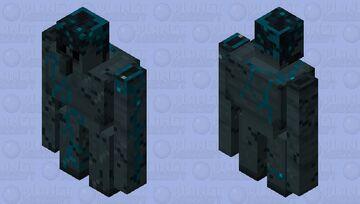 Dark Golem Minecraft Mob Skin