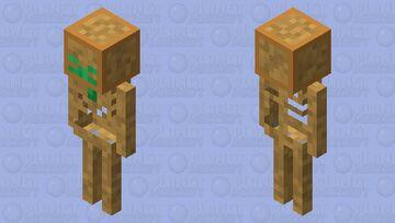 Skeleton of Undying Minecraft Mob Skin
