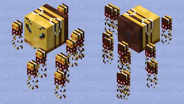 The Queen Bee Minecraft Mob Skin