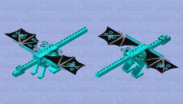 Water Dragon Minecraft Mob Skin