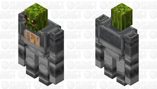 Golem Iron / of the group illager / re-texturing / Clean / without plants and a watermelon Minecraft Skin