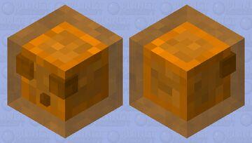 Orange Slime Minecraft Mob Skin