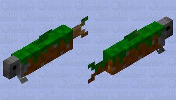 Earth Fish Minecraft Mob Skin