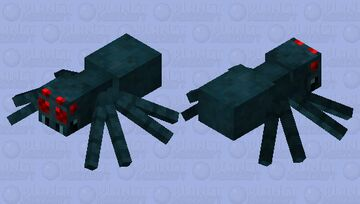 cave spider re-texturized / 98% complete Minecraft Mob Skin
