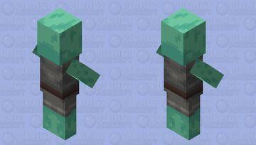 Oxidized Villager Minecraft Mob Skin