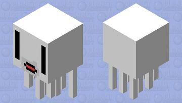 simple ghast Minecraft Mob Skin