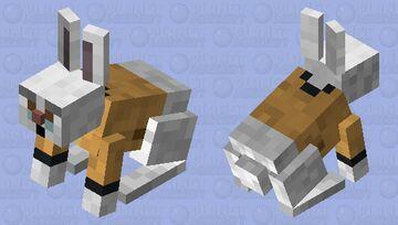 White Rabbit Minecraft Mob Skin