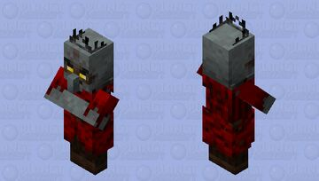 Crimson Hag Minecraft Mob Skin