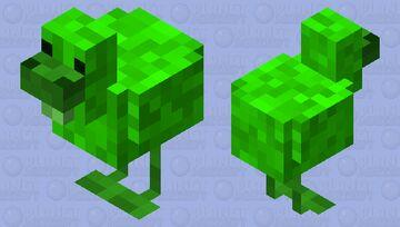 Green Chicken Minecraft Mob Skin