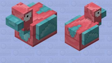 Porygon - Pokemon Chicken Replacer Minecraft Mob Skin