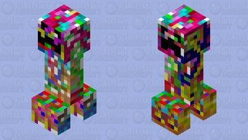Multicreeper Minecraft Mob Skin