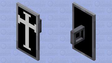 Hospitaler (Johanniter) Wappenschild Minecraft Mob Skin