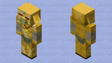 Golden Bokoblin (Breath Of The Wild) Minecraft Mob Skin