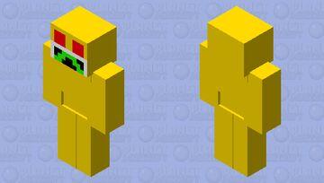 Golden Robot Minecraft Mob Skin