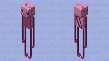 Enderlotl Minecraft Mob Skin