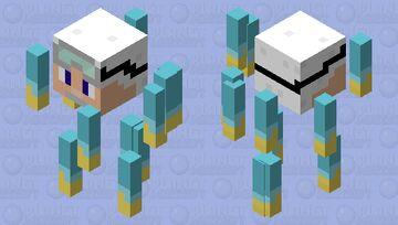 Professor Blaze Minecraft Mob Skin