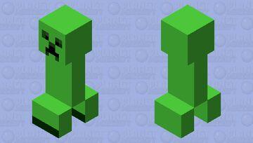 plastic creeper Minecraft Mob Skin