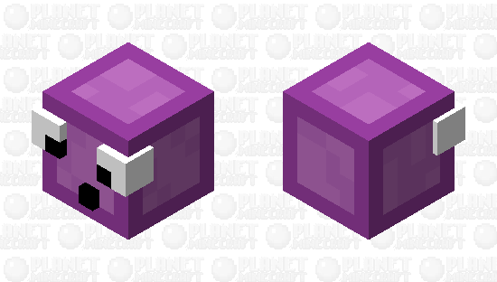 If slimes came from the end... Minecraft Skin