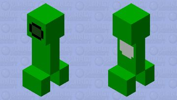 when the creeper is sus Minecraft Mob Skin