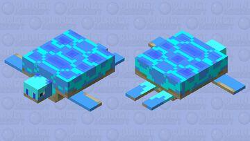 blue tortes Minecraft Mob Skin