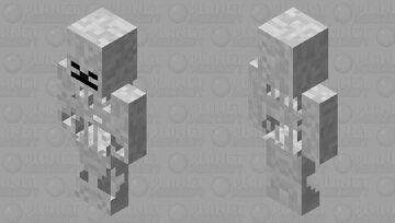 Assassin Skeleton Minecraft Mob Skin