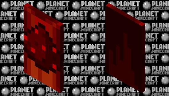 Redstone Cape Minecraft Skin