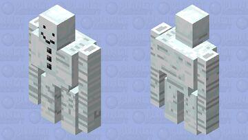 Omega snow Minecraft Mob Skin