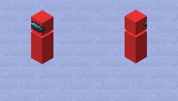 Sussy bata Minecraft Mob Skin