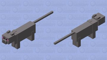 Mogg the Cat Minecraft Mob Skin
