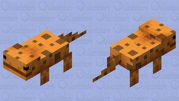 salamander / Fire / my version Minecraft Mob Skin