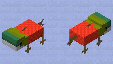 crazy canable salmon (cursed mobs axolotl editon #2) Minecraft Mob Skin