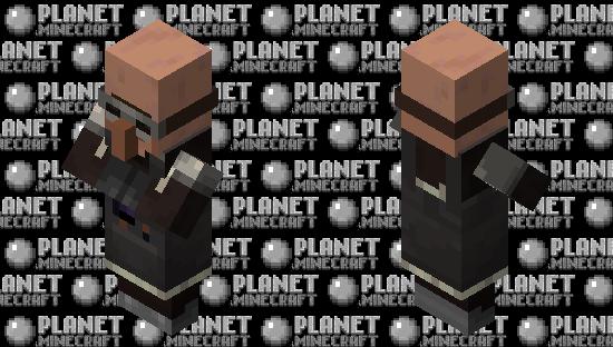 End Villager - Mason Minecraft Skin