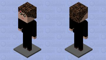 Harry Potter statue-stand🙄 Minecraft Mob Skin