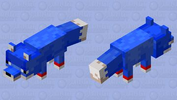 sonic Minecraft Mob Skin