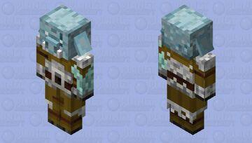 Ice spikes Piglin brute Minecraft Mob Skin