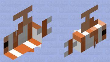 Smaller gun fish Minecraft Mob Skin