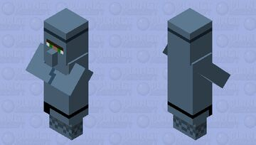 Runt Ironfurnace from Diary of an 8-bit warrior Minecraft Mob Skin