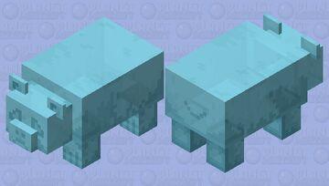 Worried gummy bear Minecraft Mob Skin