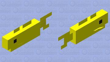 Terraira Goldfish Minecraft Mob Skin