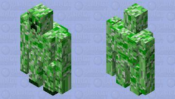 creeper golem Minecraft Mob Skin