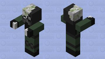 Undead Soldier Minecraft Mob Skin