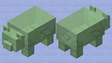 Weak gummy bear Minecraft Mob Skin