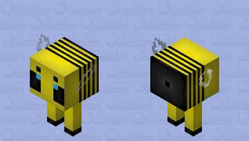 This Bee Has Legs! Minecraft Mob Skin