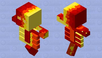 scp 457 Minecraft Mob Skin