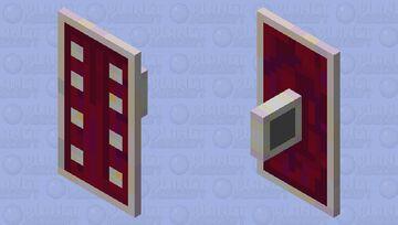Crimson shield Minecraft Mob Skin