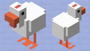 Crossy Road- Chicken Minecraft Mob Skin
